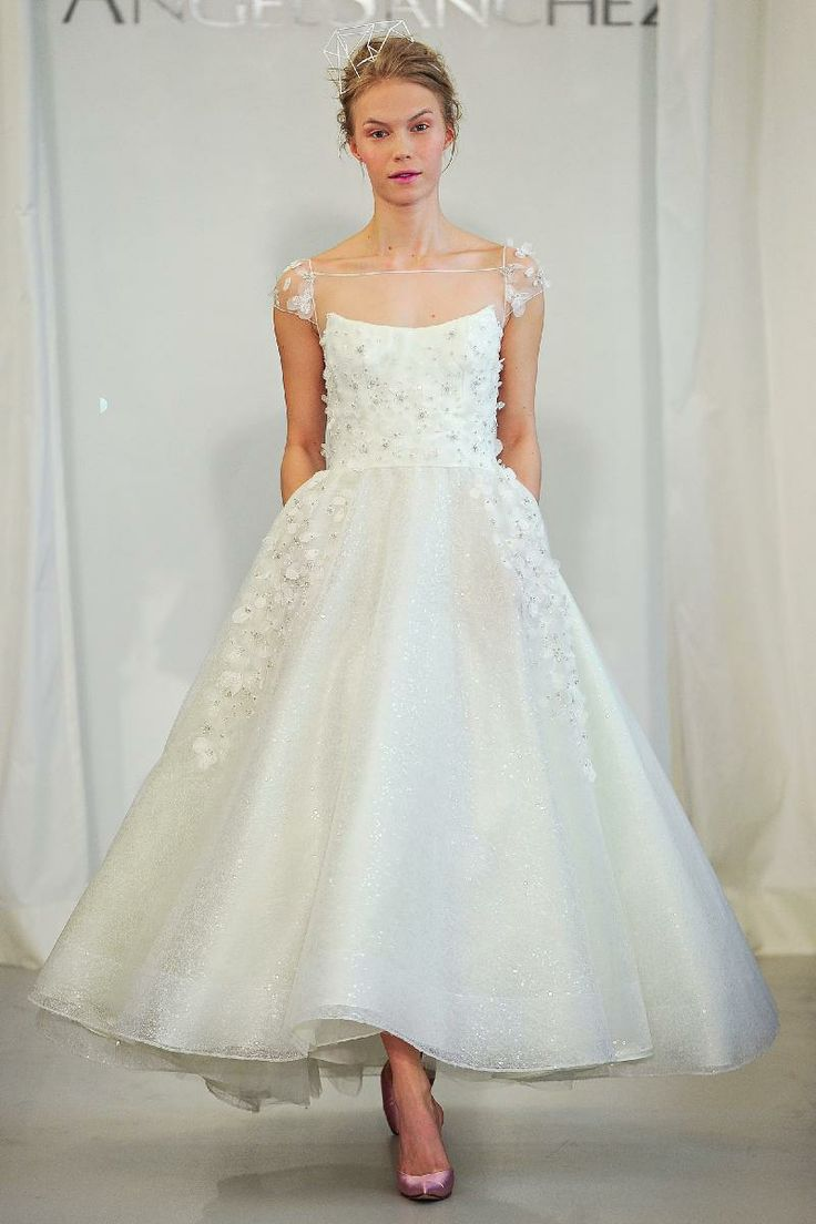 778 best Tea length wedding dresses images on Pinterest | Tea length ...