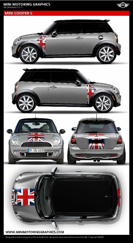 Best Creative Mini Cooper Images On Pinterest Mini Coopers - Modern car sticker decal