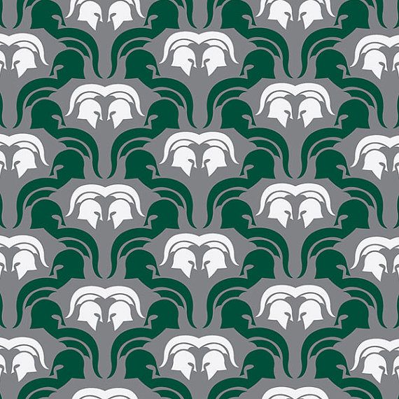This colorful Michigan State University Spartans Basketball print is an original pattern, designed with the Michigan State University Spartans colors and symbols in mind. This print come in a variety of sizes (please see drop down menu on the right).  This print can come with or without the words, Michigan State Spartans (please see drop down menu on the right).  This unique Michigan State University Spartans Basketball print looks great by itself, or on a gallery wall with other prints. It…