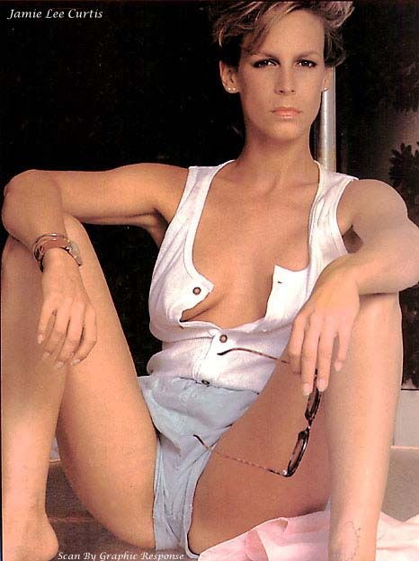 JAMIE LEE CURTIS BORN: 22 NOVEMBER 1958 5'6.5     150 LBS TRUE LIES (HELEN TASKER)