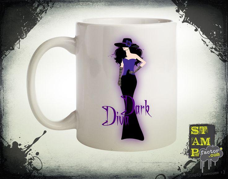 Dark Diva (Version 04) 2014 Collection - © stampfactor.com *MUG PREVIEW*