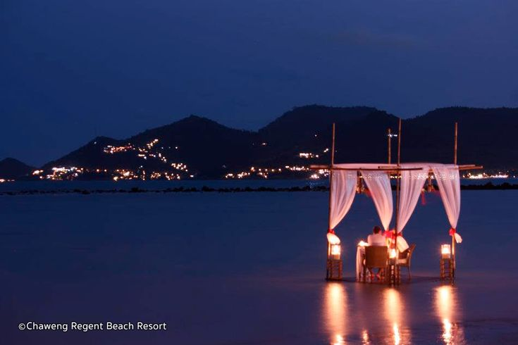 Romantic 7-Course Dinner on the Beach at Chaweng Regent Hotel