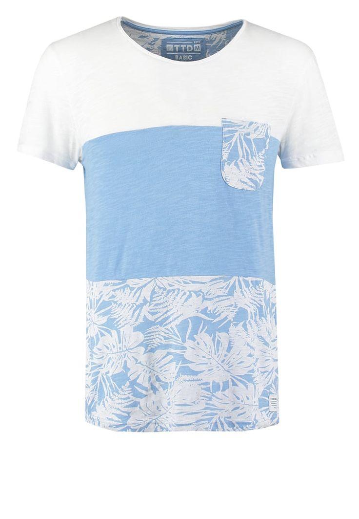 TOM TAILOR DENIM Camiseta print - light blue - Zalando.es