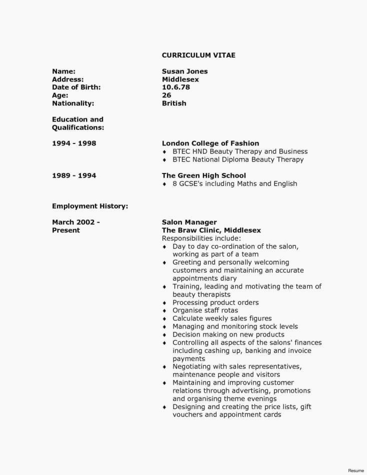 How to Complete A Cover Letter for A Resume Awesome Example Cover