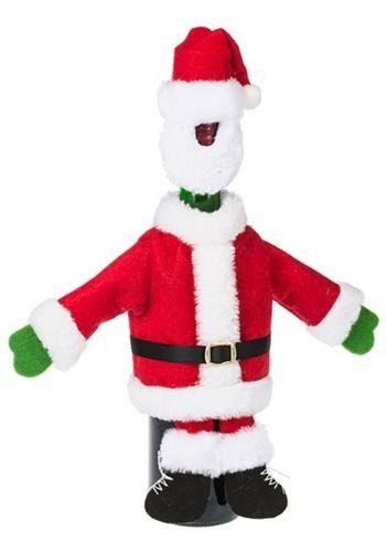206e2afaadfc Santa Suit Wine Bottle Snuggler Suit