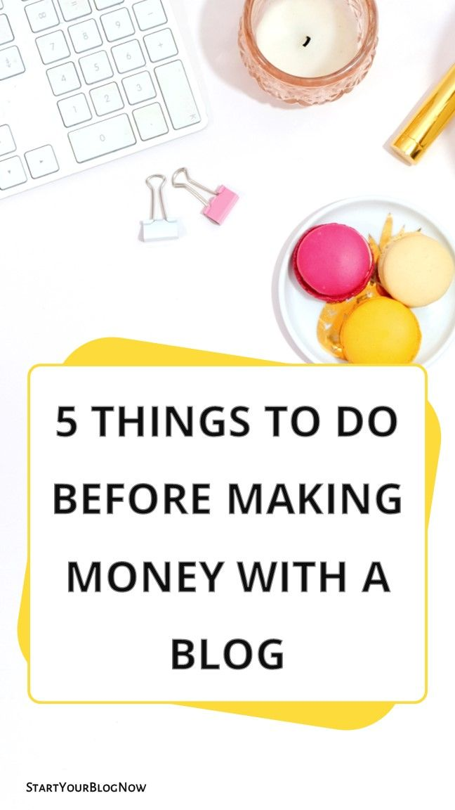 5 Things to Do Before Making Money With a Blog ….. wordpress for beginners   m… – Blogging Tips