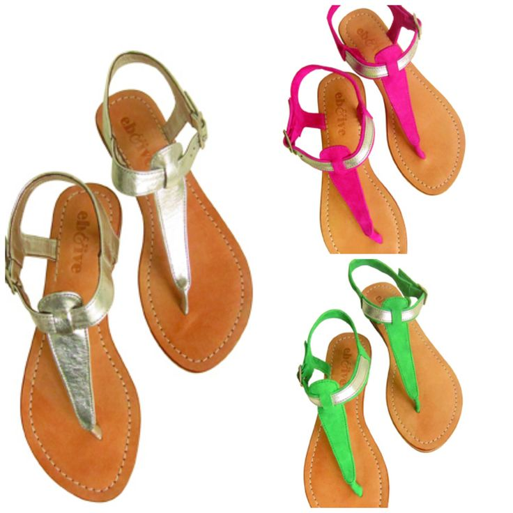 Eb&Ive Havanna Sandals.  Choose from Miami, Bermuda or Calypso. Available in sizes 37,38,39,40,41 & 42 (AU 6-11) from www.bohemianliving.com.au