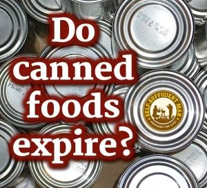 Dispelling the Canned Food Expiration Date Myth  #NatlPrep #30daysofprep
