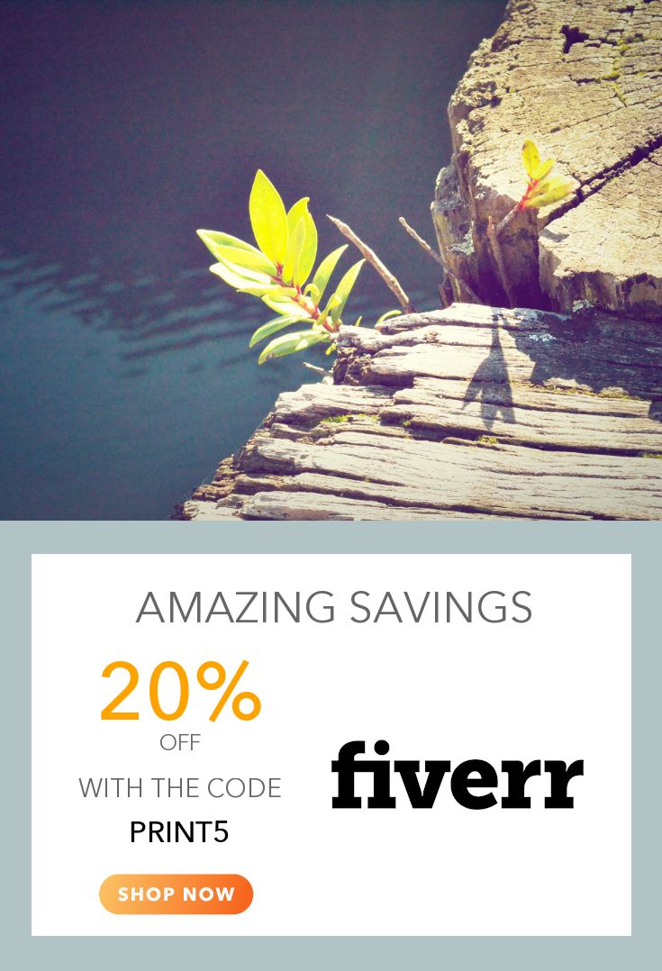 12 best Fiverr Coupons images on Pinterest | Promotion code, Coupon ...