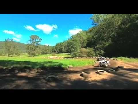 Quad Biking at Glenworth Valley - YouTube