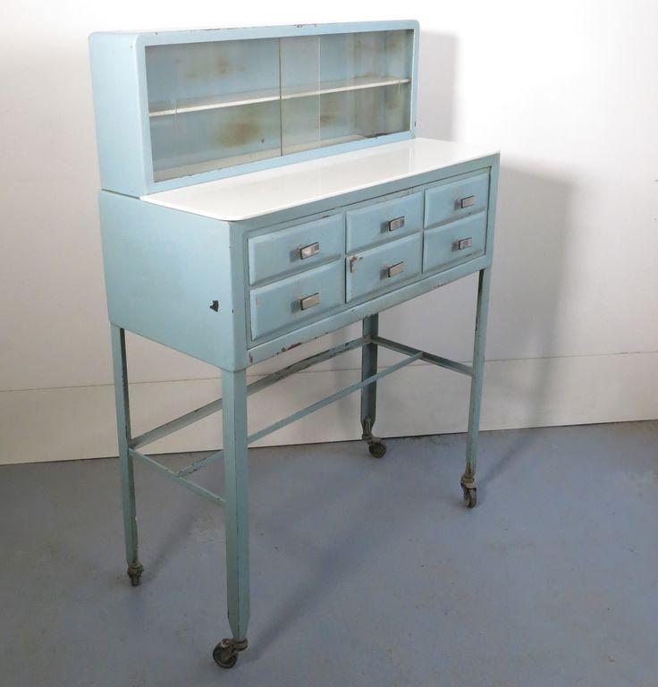 meuble de dentiste vintage ann es 40 decor food recipes pinterest. Black Bedroom Furniture Sets. Home Design Ideas