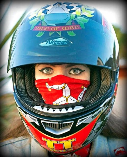 Isle of Man - I know I said this somewhere else, but; doesn't she have the most beautiful eyes? I envy the IOM scarf covering her mouth.