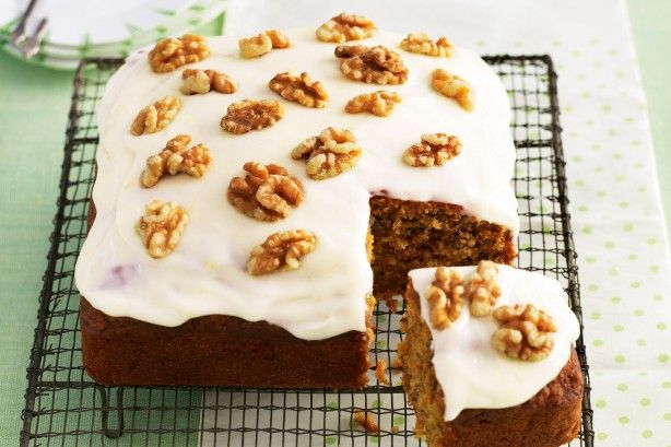 Carrot and walnut cake main image