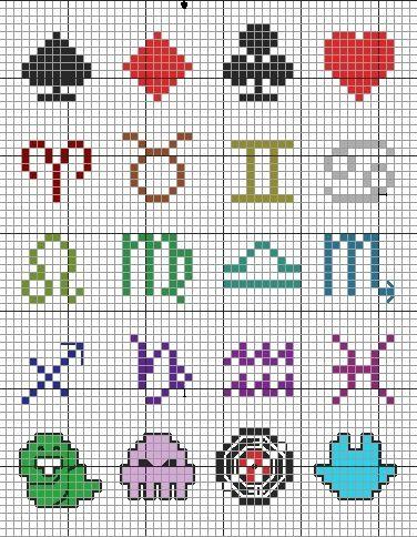 Cross stitch patterns!!