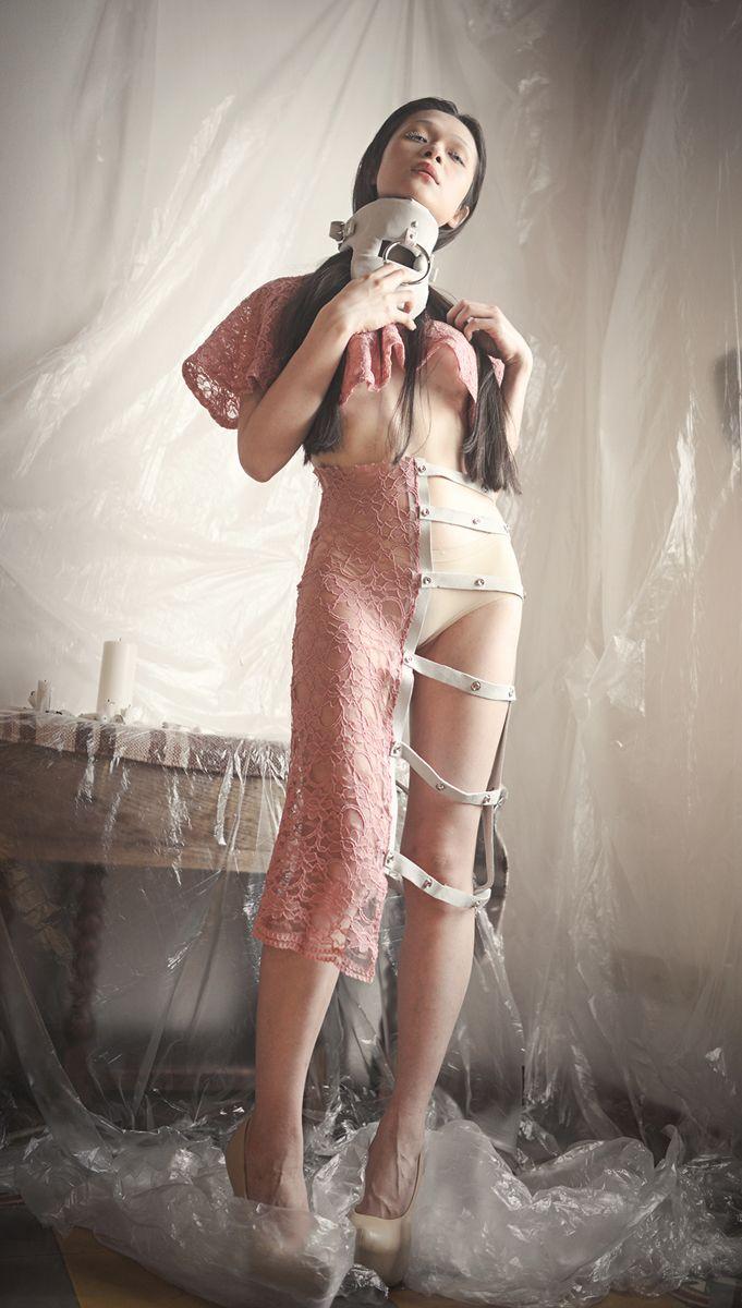 """Hasta la Raiz"" — Photographer: Larissa Mollace – Larissa M.Photography Designer: Luis Luan Lopez Model: Yueh Tsou"