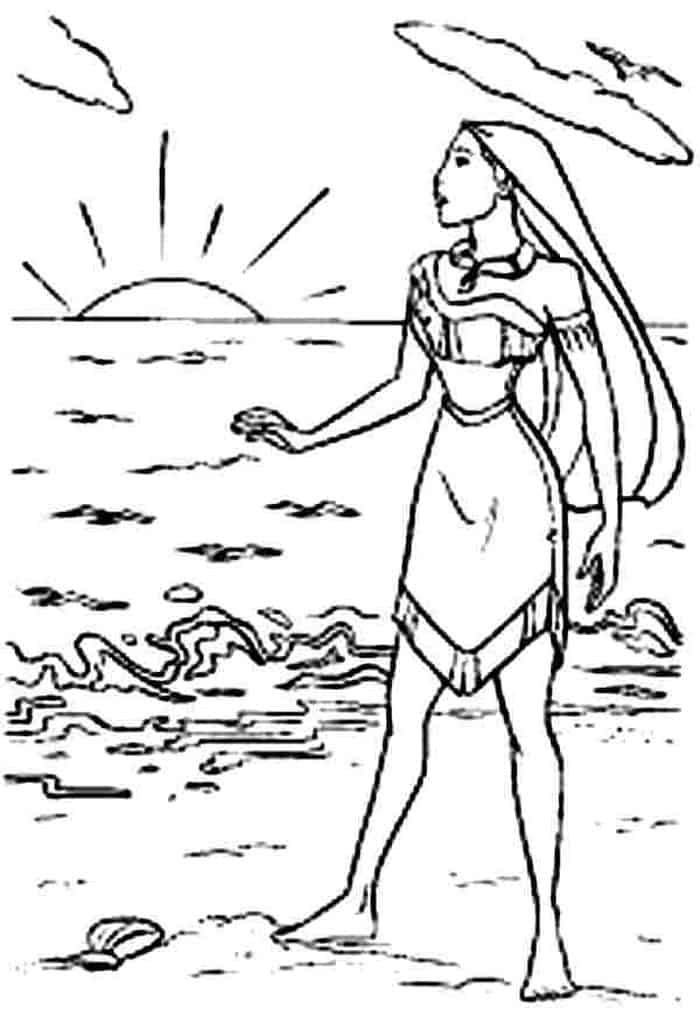 Moana Pocahontas Coloring Pages Disney Princess Coloring Pages Disney Coloring Pages Mermaid Coloring Pages