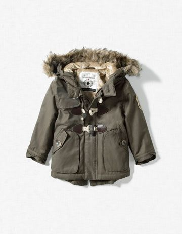 I want this for my boy!!! ust too cute!!  baby boy winter coat. too freakin' cute.