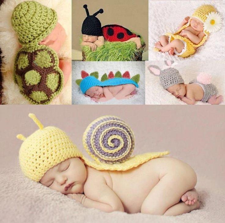 cute baby crochet costumes