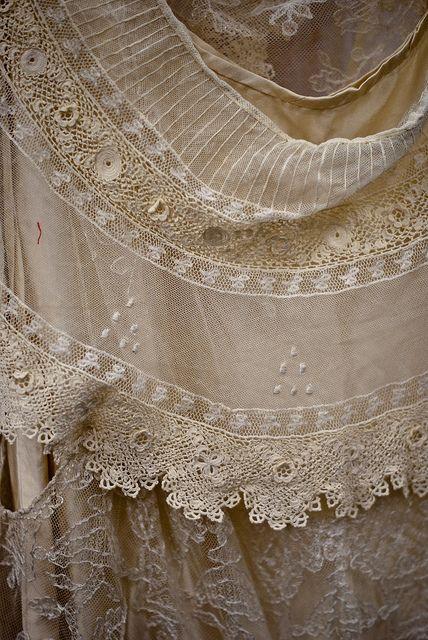 beautiful antique lace