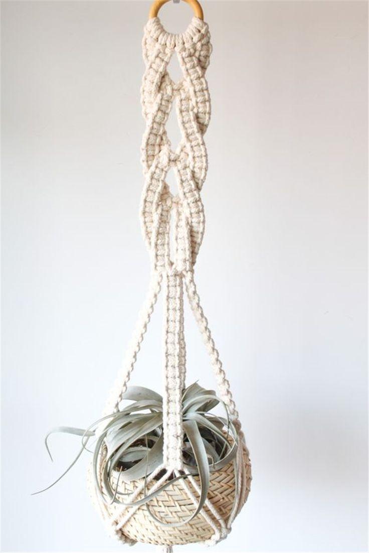 40+ Indoor Macrame Plant Hanger DIY Idea Collections