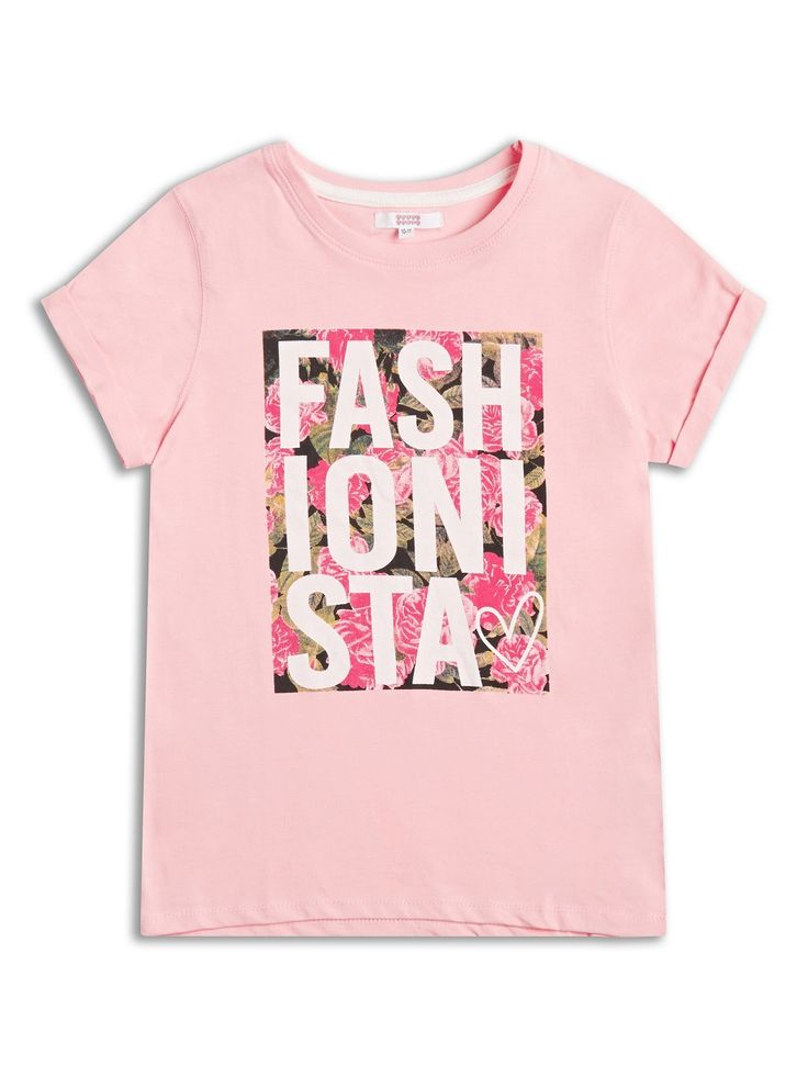Fashionista Girls t shirt 2-8years