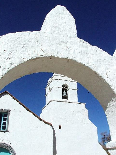 San Pedro de Atacama... The oldest church in Chile.