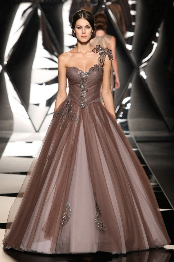 Mireille Dagher Fall Winter 2013-2014 Haute Couture Collection