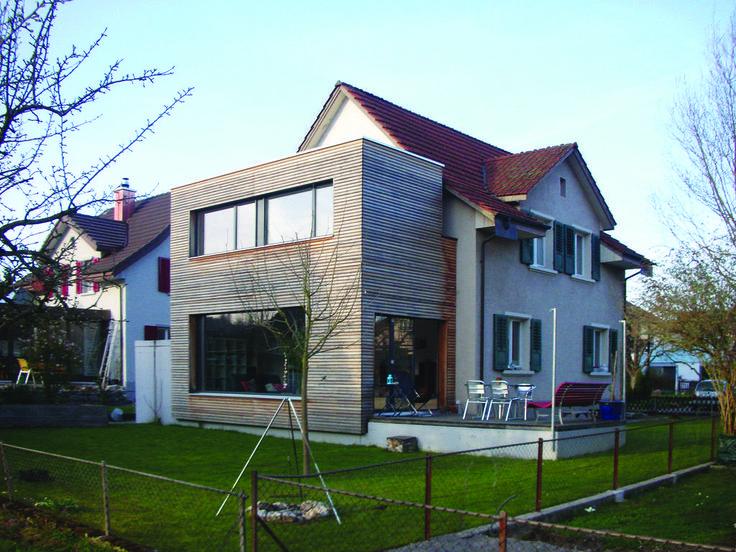 Modernisierung efh bühlweg, windisch, 2006: häuser von 5 architekten ag