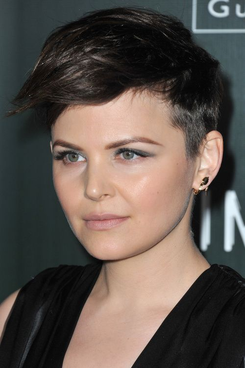 short pixie hairstyle with undercut