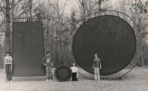 The year 1934 saw the invention of George Nissen and Larry Griswold's modern trampoline.