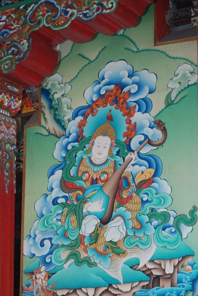 Enchey Monastery...Gangtok Sikkim...on my recent travel.