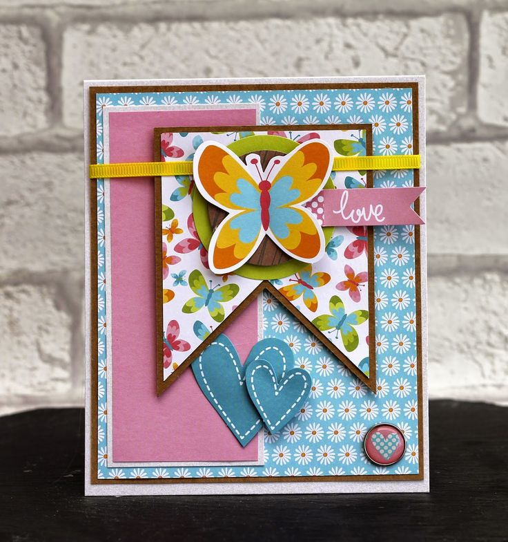 Find out how to make this beautifully bright card using Meadow Sweet products from Craft Asylum.