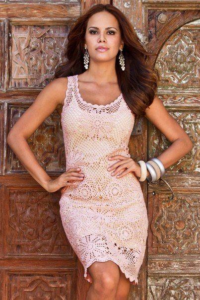 платье крючком — Мир вязания и рукоделия