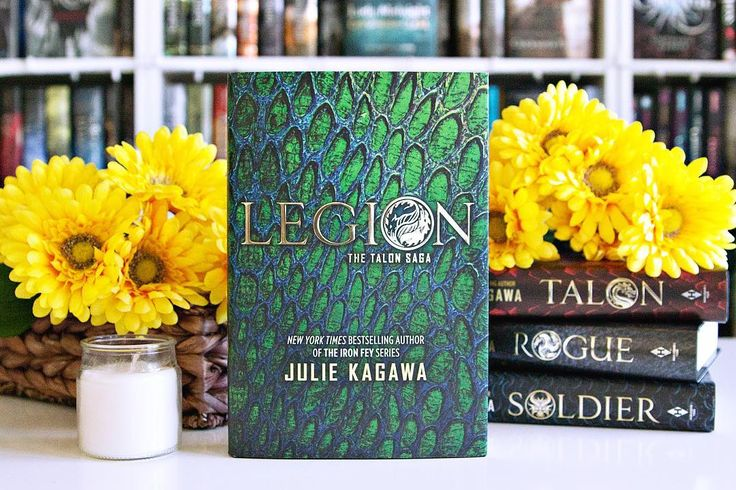 Legion by Julie Kagawa was released into the wild yesterday and I'm thrilled to have it in my collection!! --- Confession: I adore Julie Kagawa's books but I've not yet read this series.  I keep meaning to but there's always so many books and so little time.  Hopefully I can get to these soon. ---  Character w/ your Name. #aprilbookstagram I can't really think of any character that has my name.  ---  Have you read the Talon series??  If so what do you think of it?? --- #bookphotochallenge…