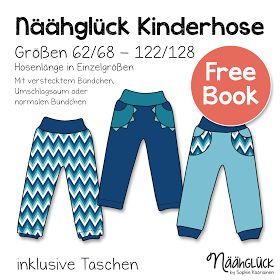 Freebook, nicht pumpige Hose, Gr. 62 bis 128