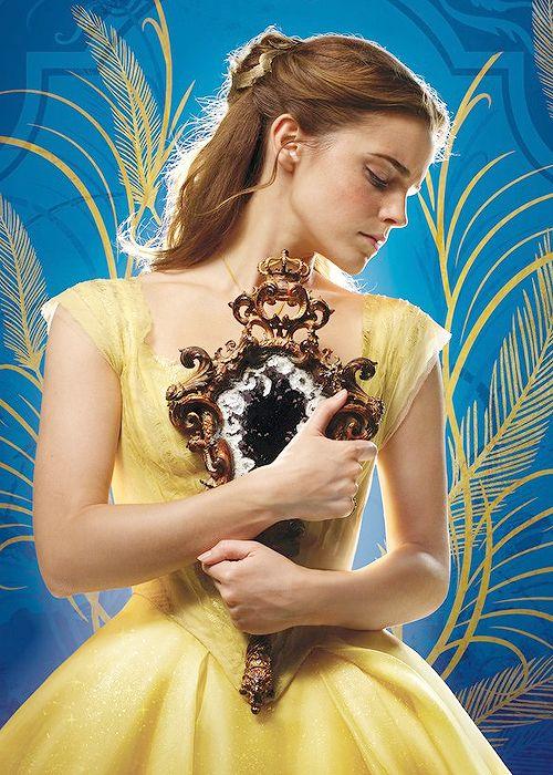 """Emma Watson as 'Belle' in Disney's Beauty and the Beast (2017) """