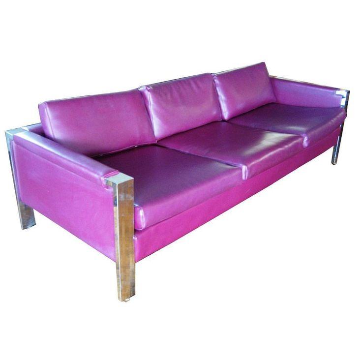 Milo Baughman Style Thomasville Sofa