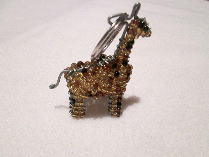 beadwork key ring #37