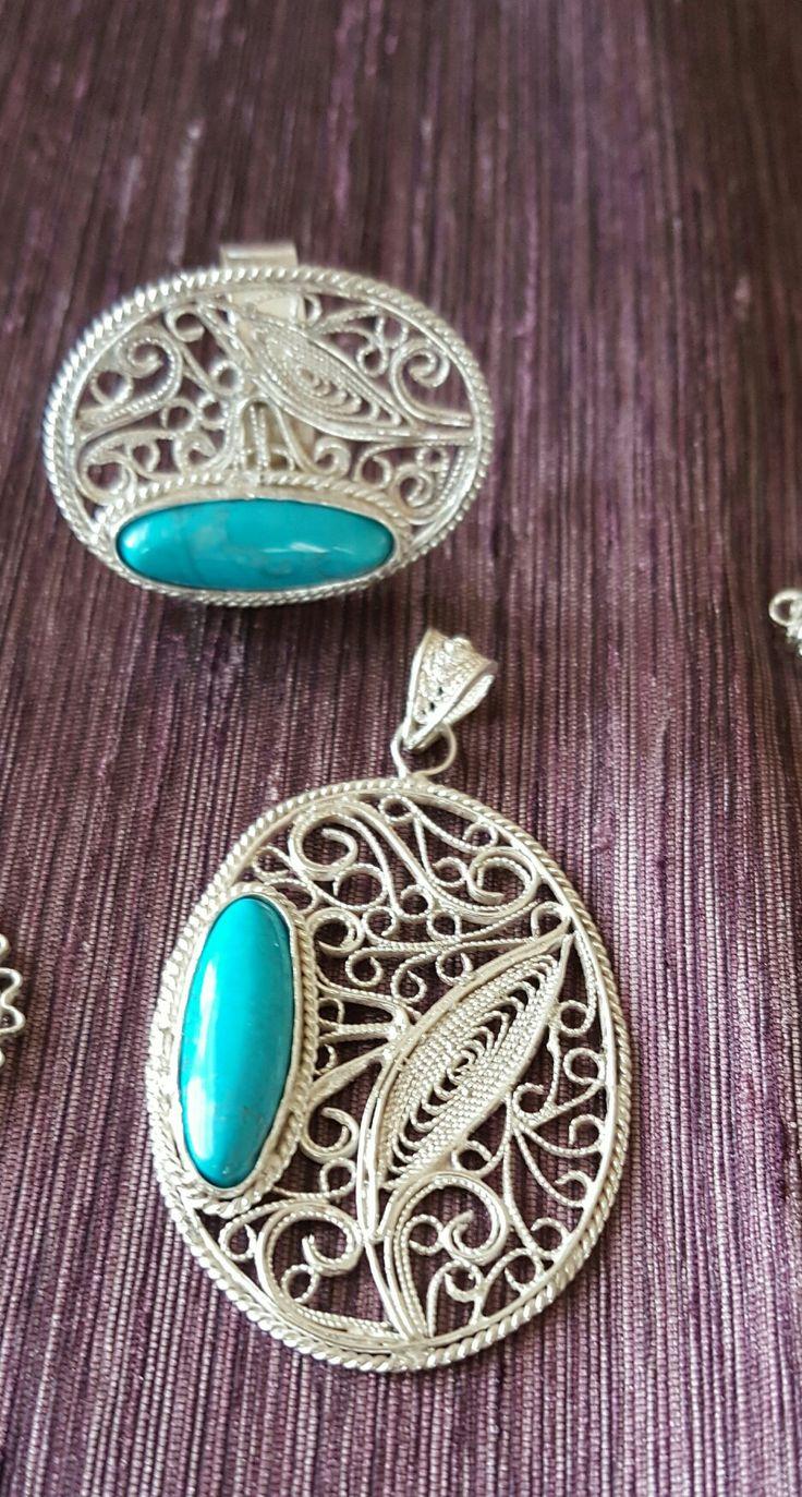 by oya #silver filigre #handmade #telkari #oyaca #oyalanmaca