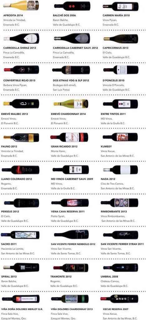 30 mejores vinos mexicanos