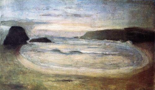 Henri Matisse, Large Grey Seascape 1896 (via 1910-again)