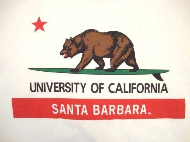 University of California UC Santa Barbara UCSB Souvenir Alumni Bear T Shirt S