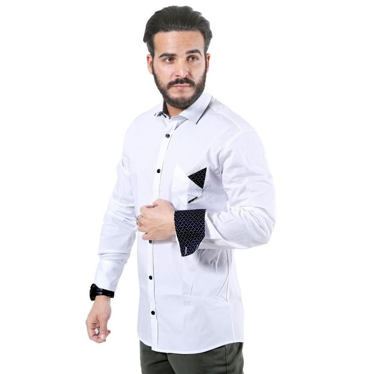 STEFAN Italian Design Slim Fit Πουκάμισο