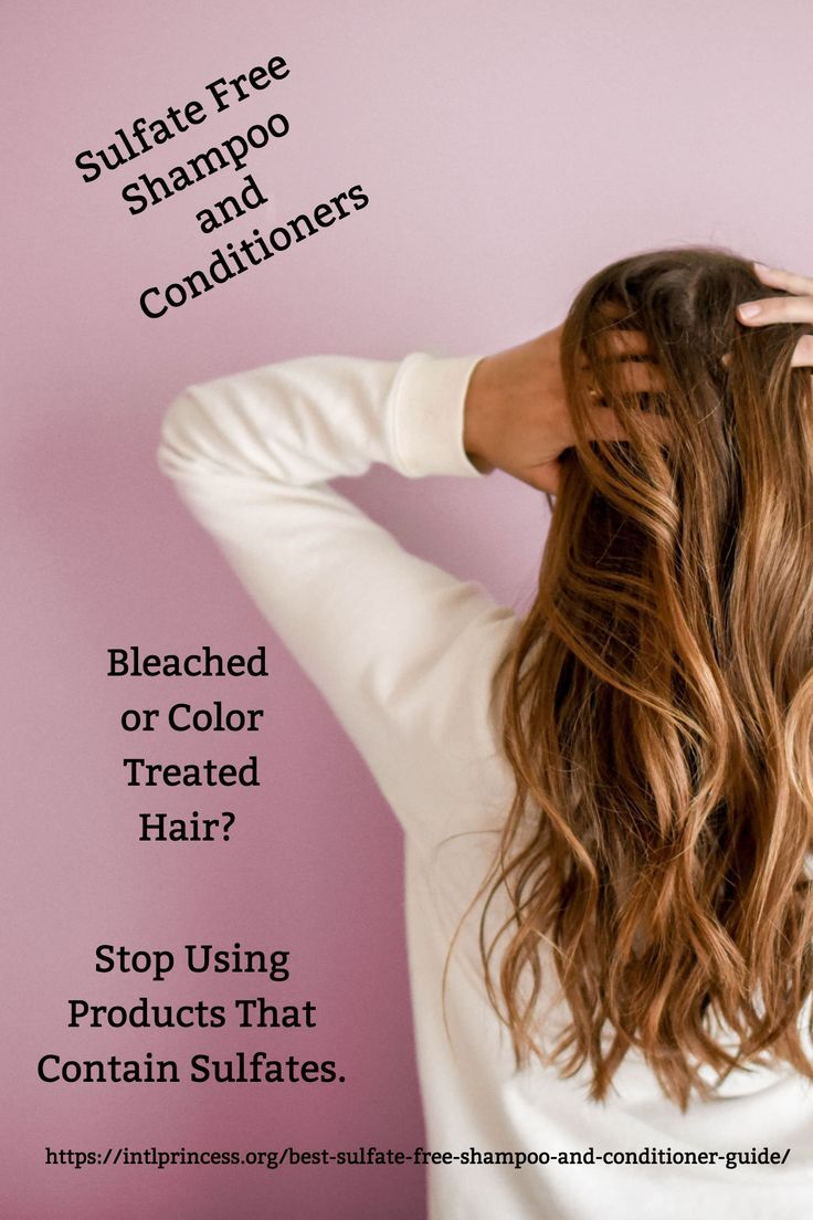 Best Sulfate Free Shampoo And Conditioner Reviews Hair And Beauty