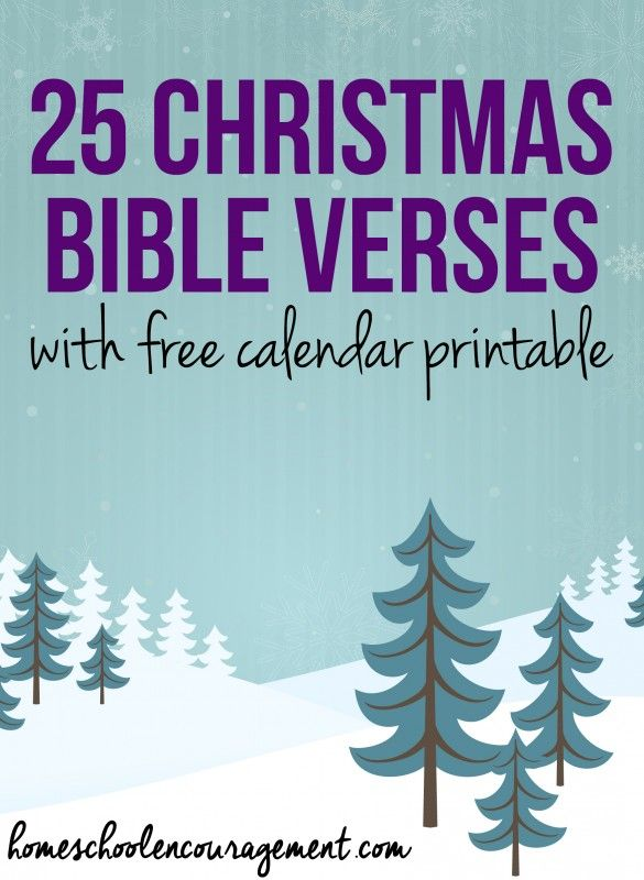 25 Christmas Bible Verses