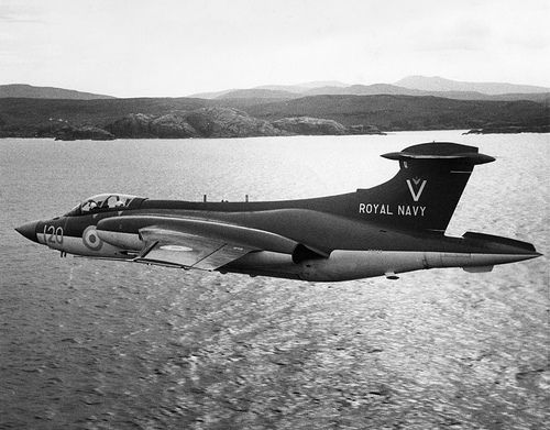 Blackburn Buccaneer in flight (Date and location unknown)