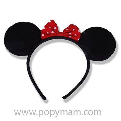 Miki Mouse Kız Bebek Taçları