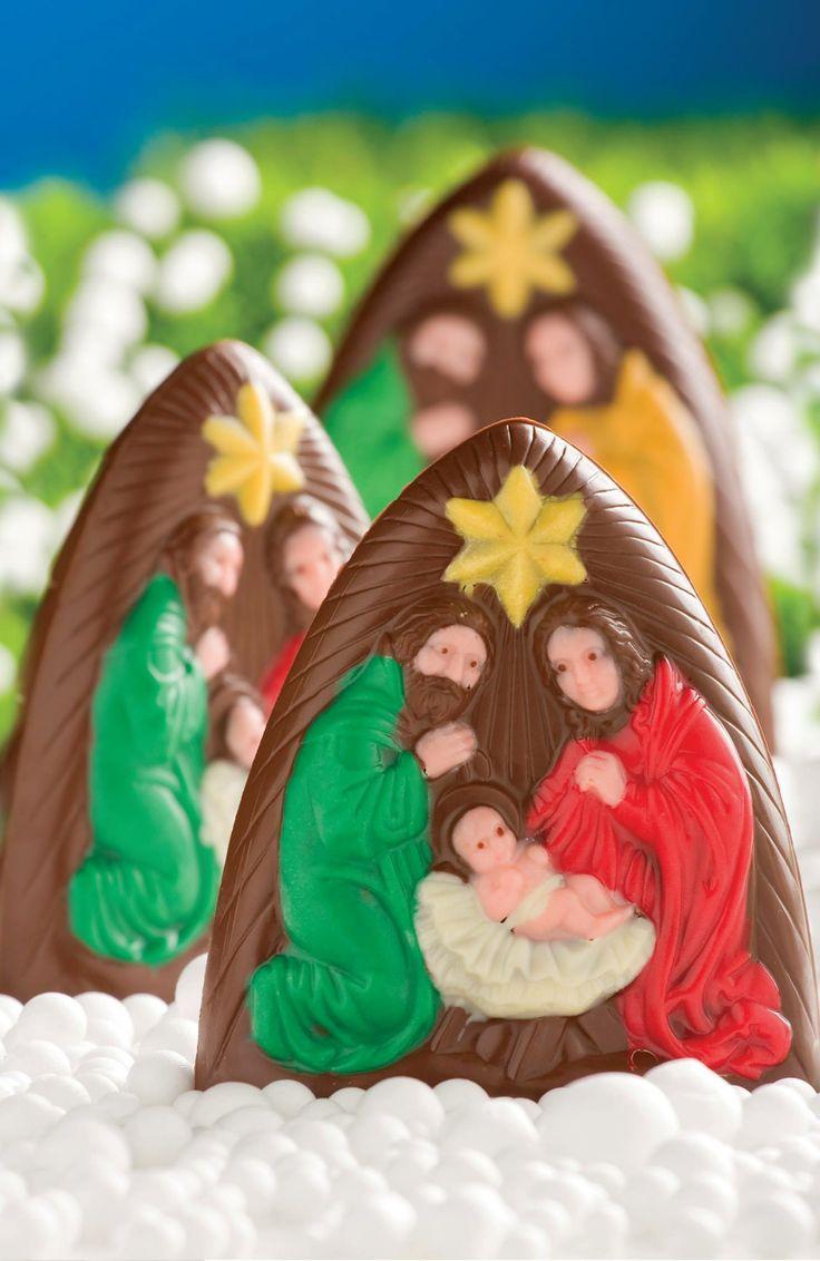 """Recomendación navideña de la #reposteriaastor ... """"PESEBRE DE CHOCOLATE""""... #reposteria #chocolates  Regala Astor, regala amor  www.elastor.com.co"""