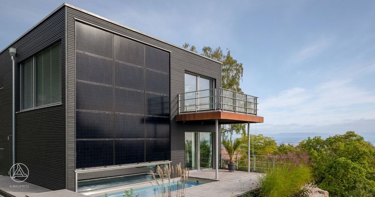integrated photovoltaic system - Baufritz Modern Home Pawliczec