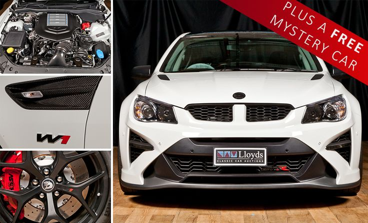 The HSV GTSR W1 is made for a great adventure, from short weekend getaways to those long, arid Australian highways, this car is comfortable, spacious and built to be fast.  Tonight's clue; like the W1, the FREE mystery car is the perfect vehicle for the great Australian road trip; it truly is a piece of history www.lloydsonline.com.au/AuctionLots.aspx?aid=7846&utm_content=buffer6958f&utm_medium=social&utm_source=pinterest.com&utm_campaign=buffer